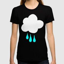 Rain Cloud Pattern T-shirt