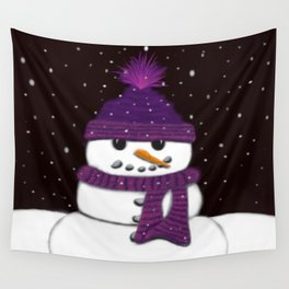 The Armless Snowman Wall Tapestry