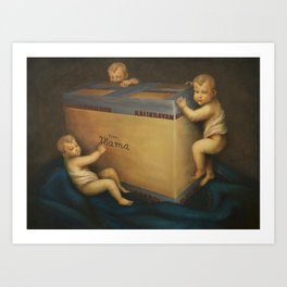 Madonna In Absentia Art Print