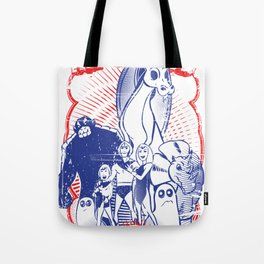 the herculoids Tote Bag