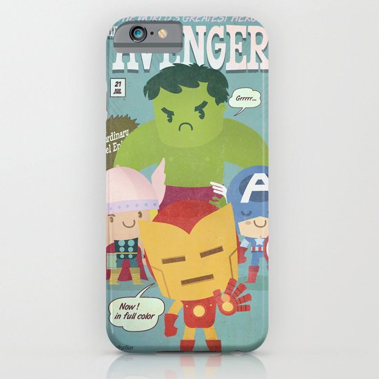 avengers fan art iPhone & iPod Case