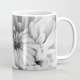 Chrysanthemum B&W Coffee Mug