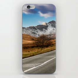 Wnter Scenery Snowdonia iPhone Skin