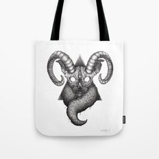 Pact with the devil Tote Bag