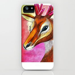 Ruby Antelope iPhone Case