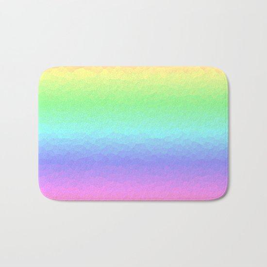 Vertical Pastels Bath Mat