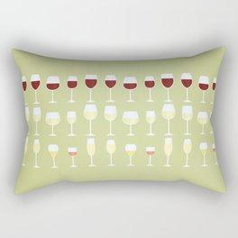 Wine Rectangular Pillow