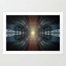 Platinum Overdrive Art Print