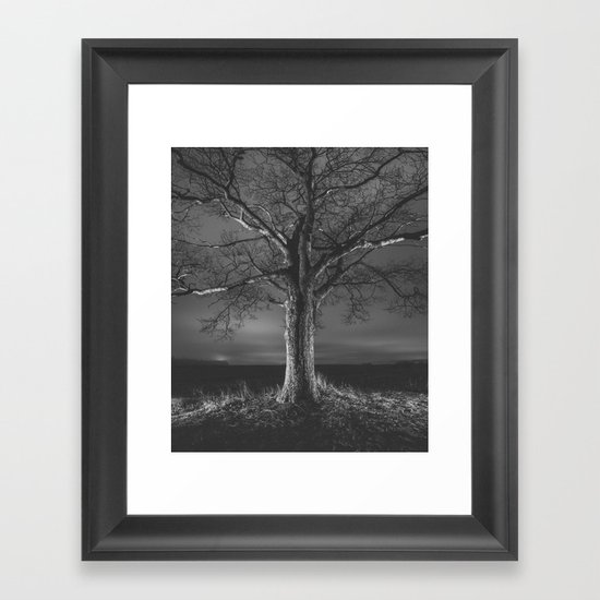 Painted in Night Framed Art Print
