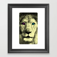 DaLionCM Framed Art Print