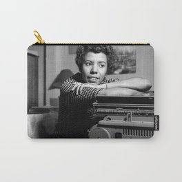 Lorraine Hansberry - Black Culture - Black History Carry-All Pouch