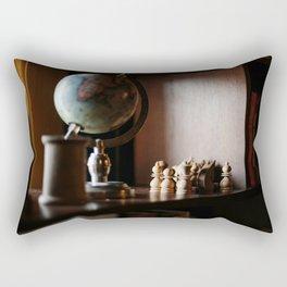 Library Shelves Rectangular Pillow