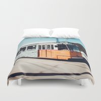 budapest Duvet Covers featuring Budapest by Johnny Frazer