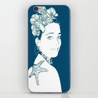 marianna iPhone & iPod Skins featuring Hermosa Marianna by Alef