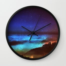 A walk in the clouds Wall Clock