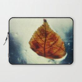 Poetic Winter Laptop Sleeve