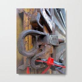 Secure Metal Print