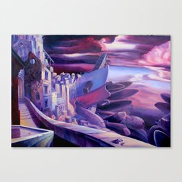 The Lord of Smegma Canvas Print