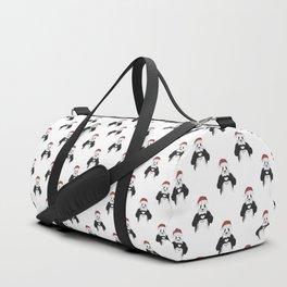Santa panda Duffle Bag