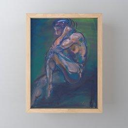 Figure II Framed Mini Art Print