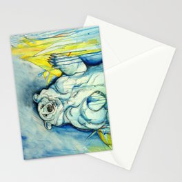 Blue bear Stationery Cards