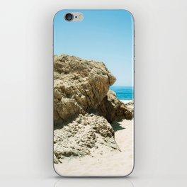 Rockface at Crystal Cove iPhone Skin