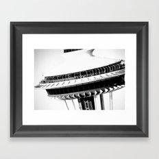 Space Needle...Seattle Framed Art Print