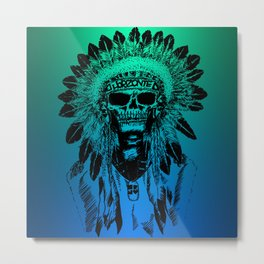 THE CHIEF Metal Print