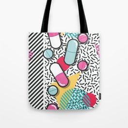 Pills pattern 018 Tote Bag