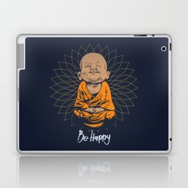 Be Happy Little Buddha Laptop & iPad Skin