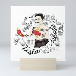 Electric Fist Mini Art Print