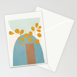 Soft Abstract Shapes 03 Stationery Cards