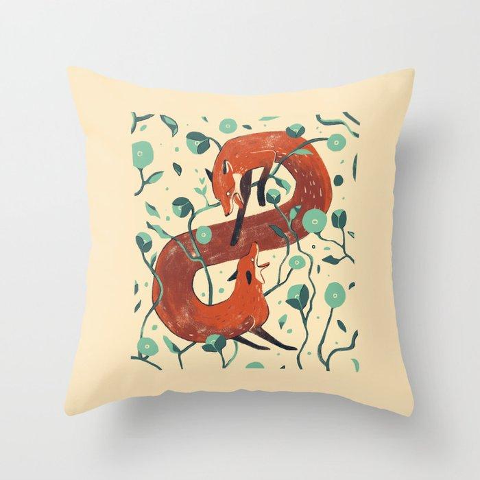 Inner turmoil Throw Pillow