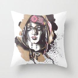 And I Darken || Lada Throw Pillow