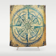 Voyager III Shower Curtain