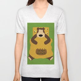 I ♥ honey Unisex V-Neck