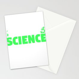 A Moment of Science Please Funny Pun Stationery Cards