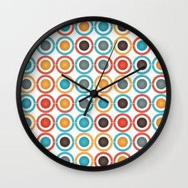 Rings and balls Wall Clock