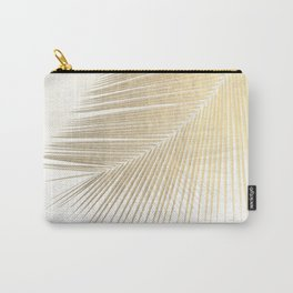 Palm leaf synchronicity - gold Carry-All Pouch