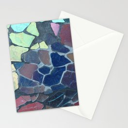 Fractured Rainbow Stationery Cards