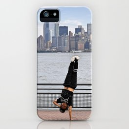 B-Boy takes NYC iPhone Case