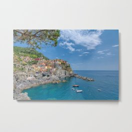 Manarola is a beautiful small town Metal Print