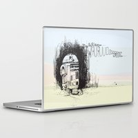 r2d2 Laptop & iPad Skins featuring R2D2 by Samantha Chiusolo