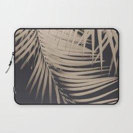 Palm Leaves Sepia Vibes #1 #tropical #decor #art #society6 Laptop Sleeve