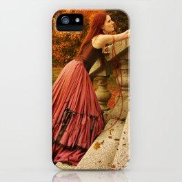 Autumn Longing iPhone Case