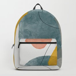 Abstract Watercolor XIII Backpack