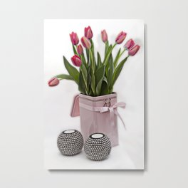 Tulips for Mothersday Metal Print