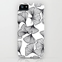 Botanical Outlines | Ginkgo wild iPhone Case
