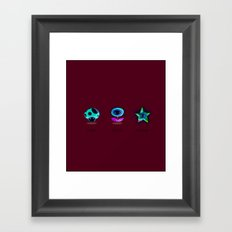 Be.  Framed Art Print