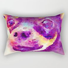 Lizzy (Chihuahua) Rectangular Pillow